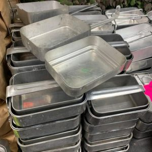 French Army 3 Piece Mess Tins