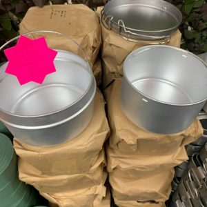 New US Army 3 Piece Mess Tins Dated 1962